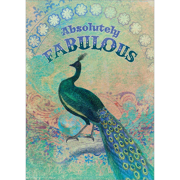 Absolutely Fabulous Greeting Card (6 Pack)